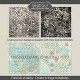 Fresh As A Daisy Create-a-page Templates