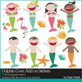 Dolphin Cove Add-on Stickers