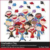 Graduation Day Stickers
