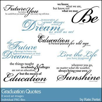 Graduation Quotes Brushes And Stamps