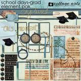 School Days - Grad Element Pak