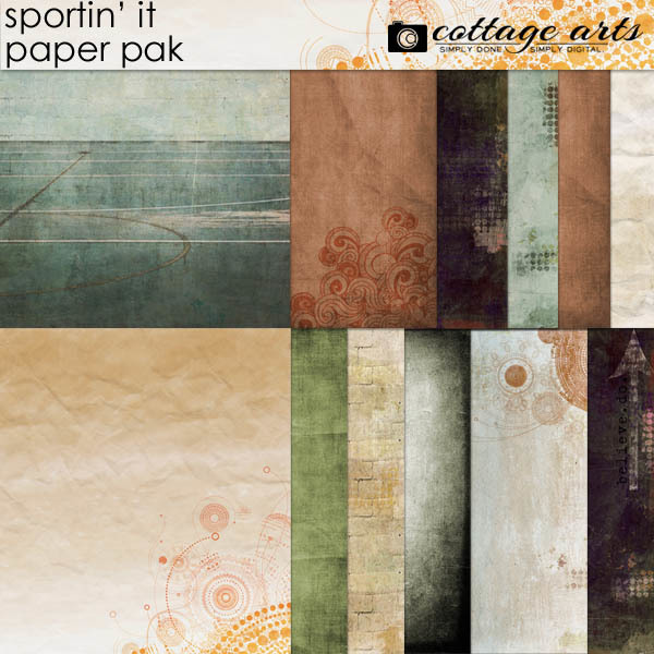Sportin' It Paper Pak
