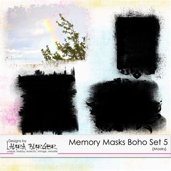 Memory Masks Boho Set 5