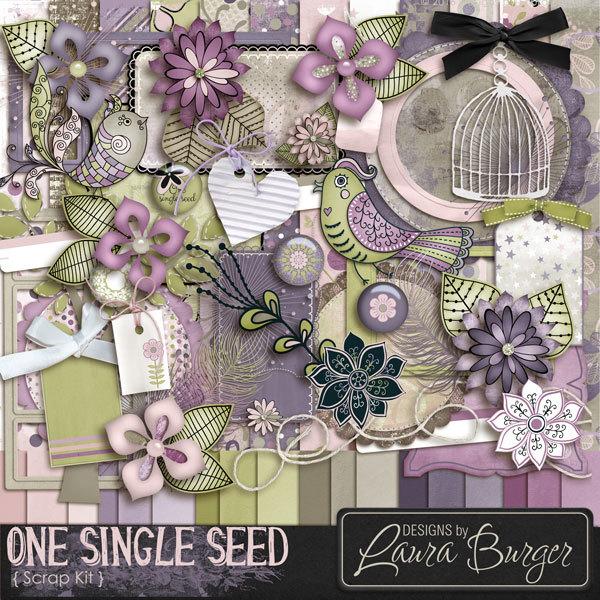 One Single Seed Scrap Kit