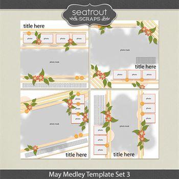 May Medley Template Set 3