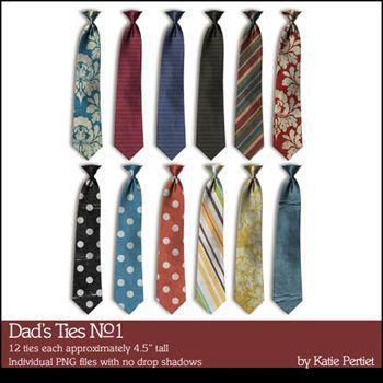 Dad's Ties No. 01