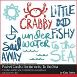 Pocket Cards And Sentiments To The Sea