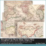 Roughed Up Photo Mats Maps No. 02