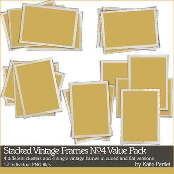 Stacked Vintage Frames No. 04 Value Pack