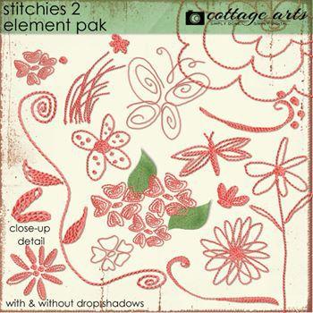 Stitchies 2 Element Pak
