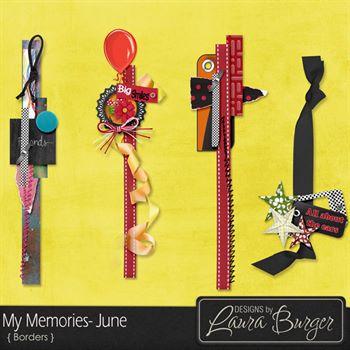 My Memories June Borders