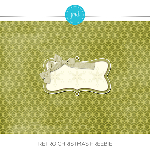 Retro Christmas Freebie