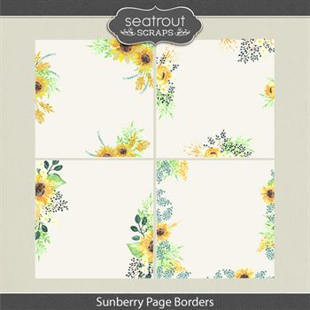 Sunberry Page Borders