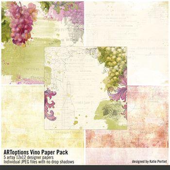 Artoptions Vino Paper Pack