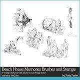 Beach House Memories Brushes And Stamps