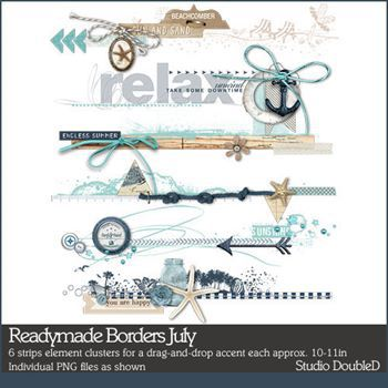 Readymade Borders July