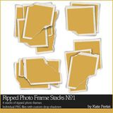 Ripped Photo Frame Stacks No. 01
