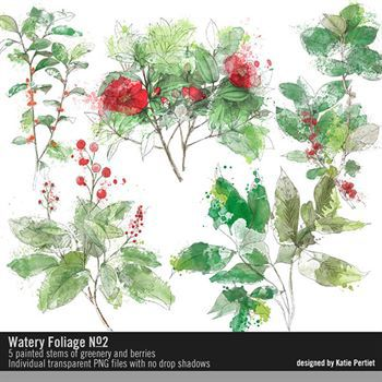 Watery Foliage No. 02