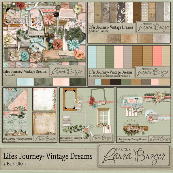 Lifes Journey Vintage Dreams Bundle