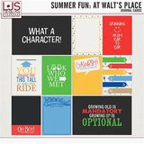 Summer Fun - At Walt's Place - Journal Cards