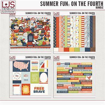 Summer Fun - On The Fourth - Bundle