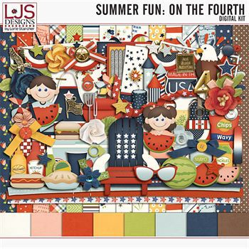 Summer Fun - On The Fourth - Kit