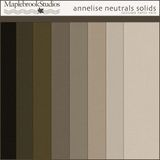 Annelise Neutrals Solids Paper Pack