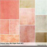 Canvas Color Mix Paper Pack No. 03