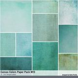 Canvas Colors Paper Pack No. 03