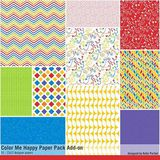 Color Me Happy Add-on Paper Pack