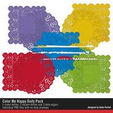 Color Me Happy Doily Pack