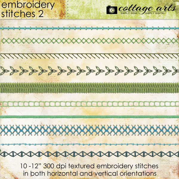 Embroidery Stitches 2
