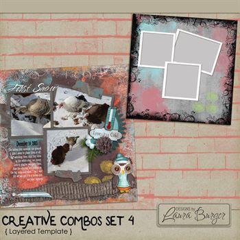 Creative Combo 4 Template