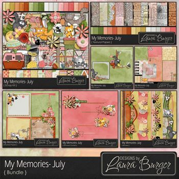 My Memories July Bundle Fwp Clusters