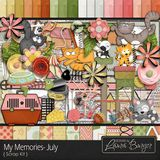 My Memories July Scrap Kit