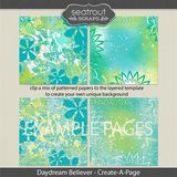 Daydream Believer Create-a-page Templates
