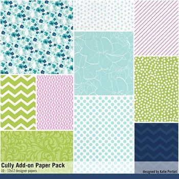 Cully Add-on Paper Pack