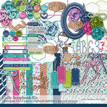 Cully Scrapbook Kit