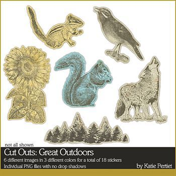 Cut Outs Great Outdoors