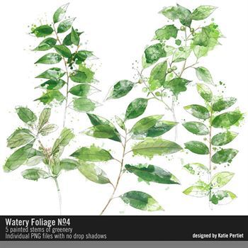 Watery Foliage No. 04