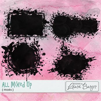 All Mixed Up Mask Set