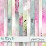 All Mixed Up Painted Papers
