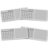2017 Desktop Calendar Template 4x10 Free