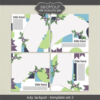 July Jackpot Template Set 2