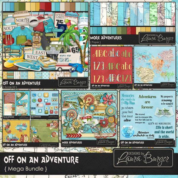 Off On An Adventure Mega Bundle
