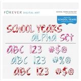 School Years Alpha Set