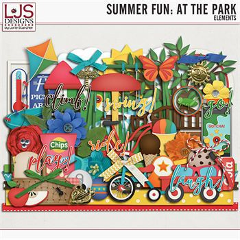 Summer Fun - At The Park - Elements