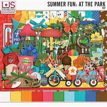 Summer Fun - At The Park - Kit