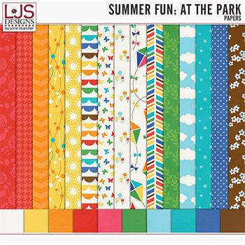Summer Fun - At The Park - Papers