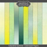 Celandine Summer Colorwash Papers